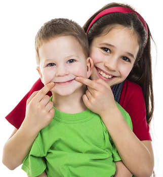 Fluoride and sealants to prevent tooth decay in children.
